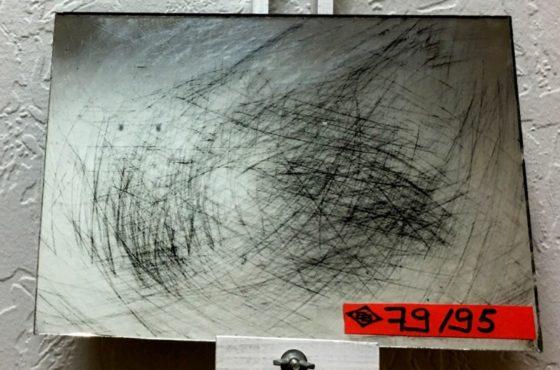 Фотогалерея. Образцы состаренного зеркала Scratch #79