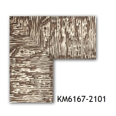 KM6167-2101 БАГЕТ ПЛАСТИК ШИР.7,6 СМ 2,9 М