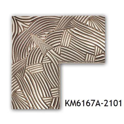 KM6167A-2101 БАГЕТ ПЛАСТИК ШИР.7,6 СМ 2,9 М