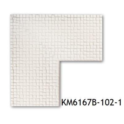 KM6167B-102-1 БАГЕТ ПЛАСТИК ШИР.7,6 СМ 2,9 М