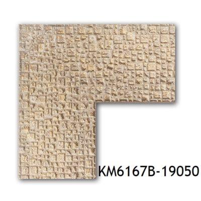 KM6167B-19050 БАГЕТ ПЛАСТИК ШИР.7,6 СМ 2,9 М