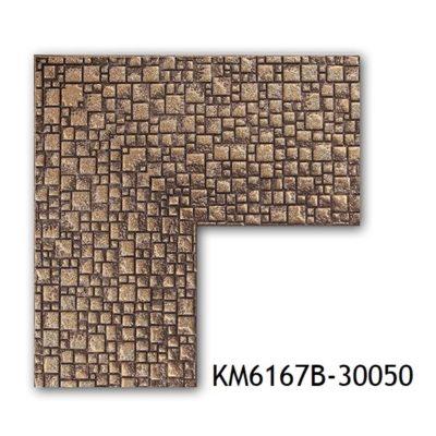 KM6167B-30050-1 БАГЕТ ПЛАСТИК ШИР.7,6 СМ 2,9 М