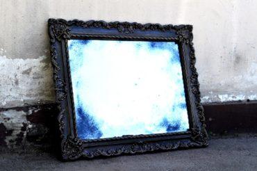 Состаренные зеркала в гипсовых рамах. R2. 830х1107 мм