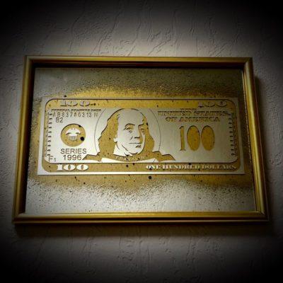 100$ DOLLARS BENJAMIN FRANKLIN R13.1001 230X320 ММ