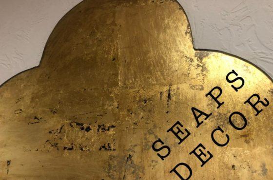 Декоративное зеркало с сусальным золотом PERSIA GOLD и PERSIA SILVER MAXI