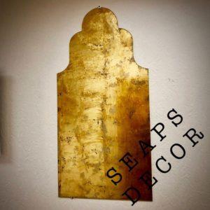 ДЕКОРАТИВНОЕ СУСАЛЬНОЕ ЗЕРКАЛО PERSIA GOLD MAXI PRS.3355.01
