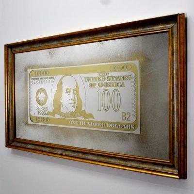 100$ DOLLARS BENJAMIN FRANKLIN X9 1344X744. №13