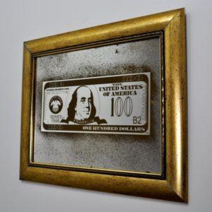 100$ DOLLARS BENJAMIN FRANKLIN X5 480 X 380 № 71