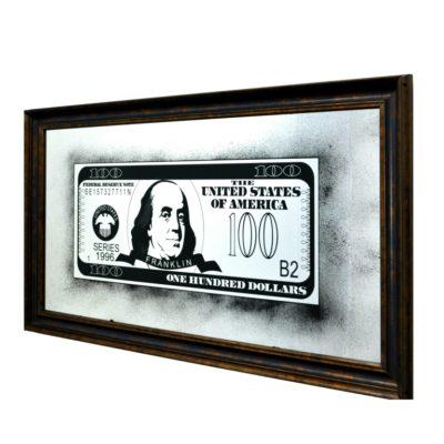 100$ DOLLARS BENJAMIN FRANKLIN X9 1344X744 №92