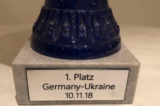 Сборная строителей Украины отыграла со строителями Германии в Зигене