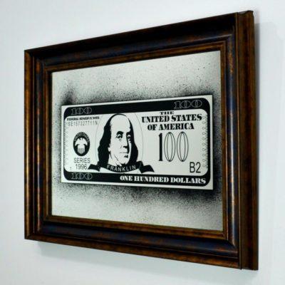 100$ DOLLARS BENJAMIN FRANKLIN X6 540X730 №33