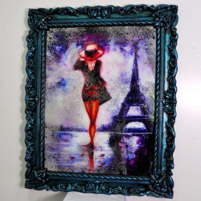СОСТАРЕННАЯ КАРТИНА R2 MADAM IN PARIS №76