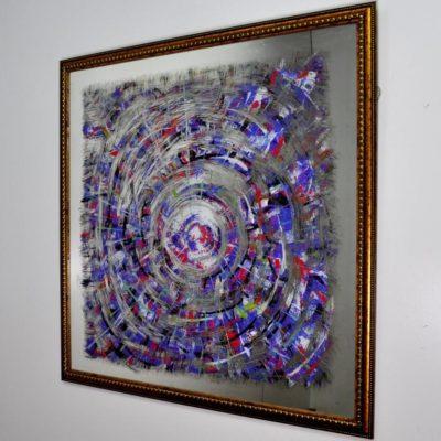 СОСТАРЕННАЯ КАРТИНА 1000×1000 X10 OBUKHOV № 7079