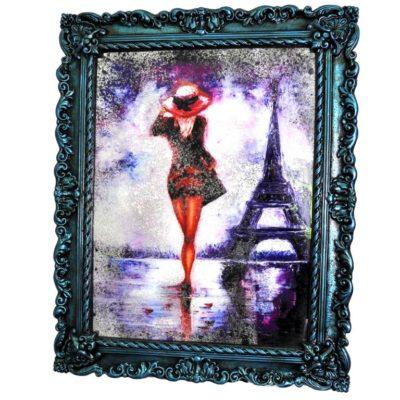 СОСТАРЕННАЯ КАРТИНА R2 MADAM IN PARIS №74
