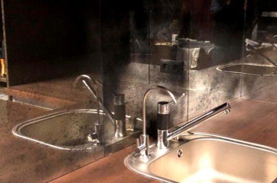 Скиналли рабочая поверхность из состаренного зеркала Classic в Ирпине