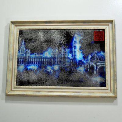СОСТАРЕННАЯ КАРТИНА X6. ELECTRIC LONDON №7073