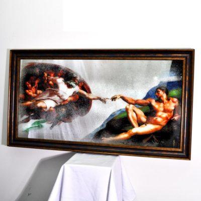 КАРТИНА X9. LA CREAZIONE DI ADAMO. PART 2. №3002