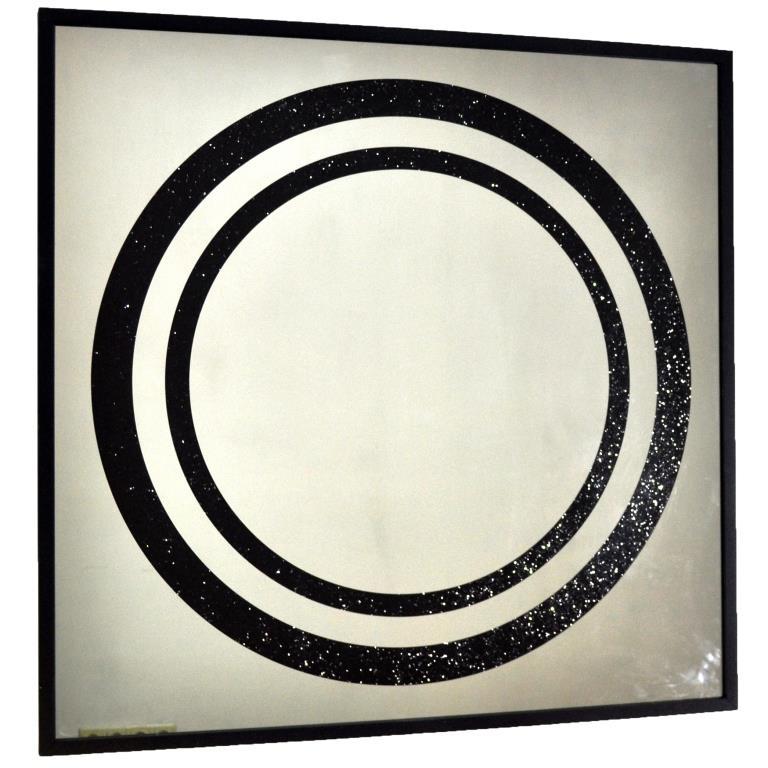 ZERROFIXX GLITTER CIRCLE BLACK X10 3 SERIES №3307