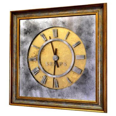 ЗОЛОТЫЕ ЧАСЫ X7 PLATINUM TIME. WALL CLOCK №3321