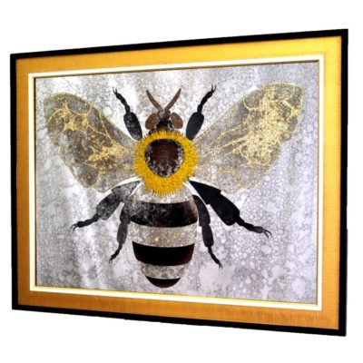 CRYSTAL GOLDEN BEE. ПЧЕЛА №3323