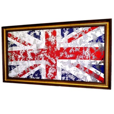 ФЛАГ ВЕЛИКОБРИТАНИИ FLAG GREAT BRITAIN В РАМЕ. № 4003