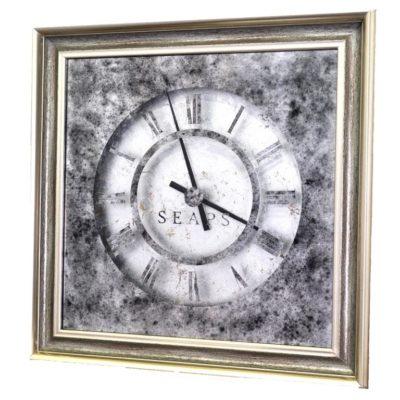 СЕРЕБРЯНЫЕ ЧАСЫ X7 SILVER TIME. WALL CLOCK №3322