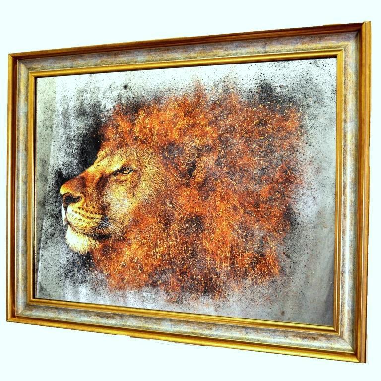 КАРТИНЫ НА ЗЕРКАЛАХ. GOLDEN LION X8. № 384