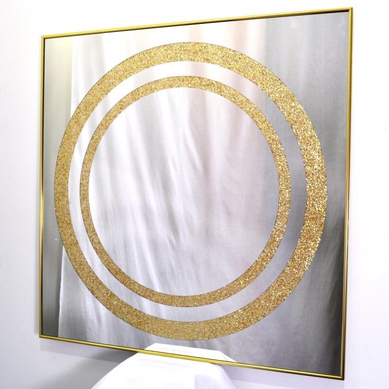 ZERROFIXX GLITTER CIRCLE GOLD. X10. №3309A