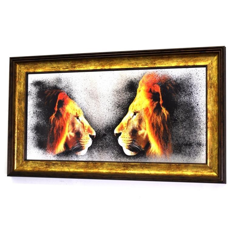 PRIDE. 2 LIONS. №7007 MINI.X23.420X720MM
