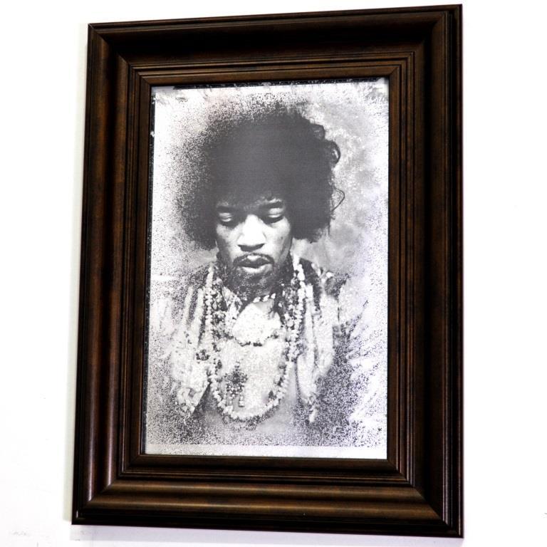 JIMI HENDRIX. BLACK AND WHITE. №1764
