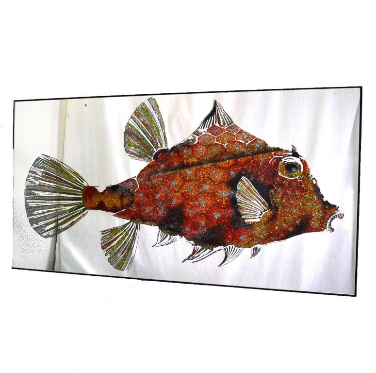 КАРТИНА С КРИСТАЛЛАМИ DIAMOND FISH №3348