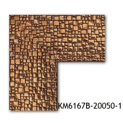 KM6167B-20050-1 БАГЕТ ПЛАСТИК ШИР.7,6 СМ 2,9 М