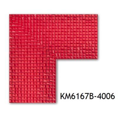 KM6167B-4006 БАГЕТ ПЛАСТИК ШИР.7,6 СМ 2,9 М