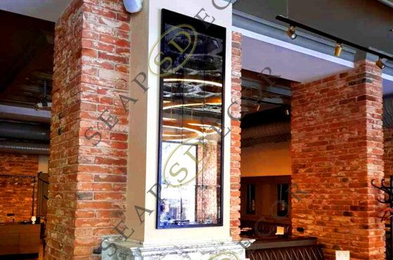 Каминное зеркало в ресторане «Хмельной князь» сети ресторанов «Пивная дума»