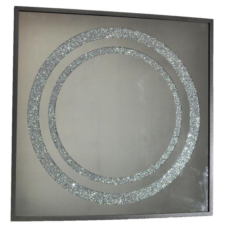 ZERROFIXX GLITTER CIRCLE SILVER X10 3 SERIES №3305