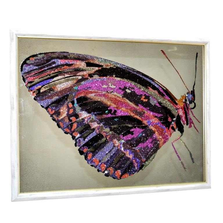 CRYSTAL MONARCH BUTTERFLY №3414